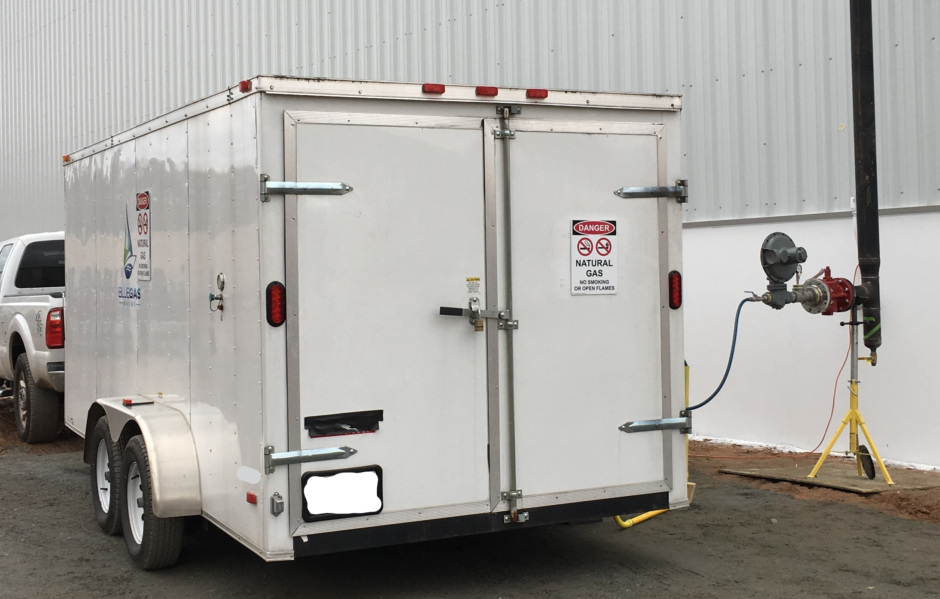 Medium Mobile Gas Unit